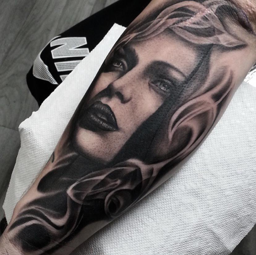 Sacred eye tattoo image